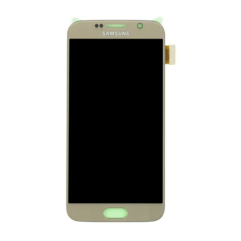 Samsung Lcd S6 Samsung Galaxy S6 Lcd Touch Screen Digitizer Assembly Gold