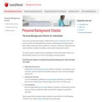 Lexisnexis Background Check Lexis Nexis Background Checks Lexisnexis Review