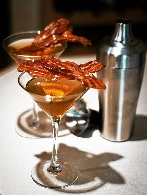 martini bacon blender booze bacon apple martini