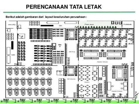 analisis layout perusahaan ppt app 16