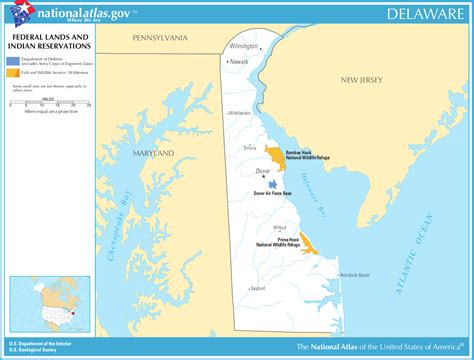 indian reservations usa map map of delaware map federal lands and indian reservations