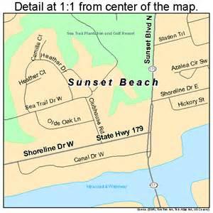 sunset carolina map 3765900