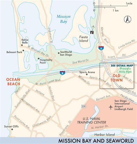 san francisco map mission bay map of mission bay beaches and seaworld mission bay