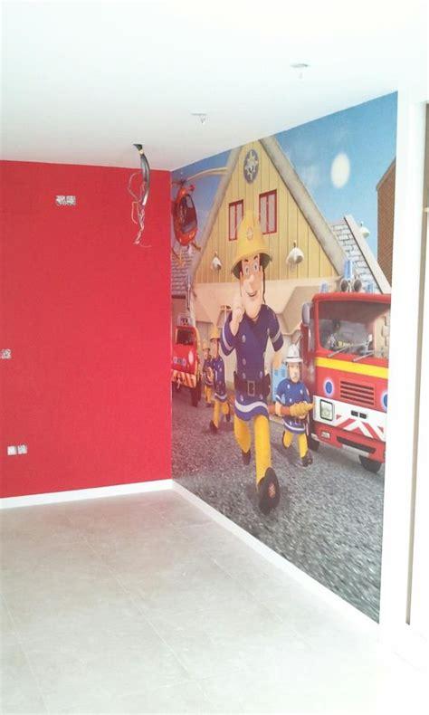 Fireman Sam Bedroom Furniture Fireman Sam Mural Kid S Bedroom They It Fireman Sam Pinterest Kid And Firemen