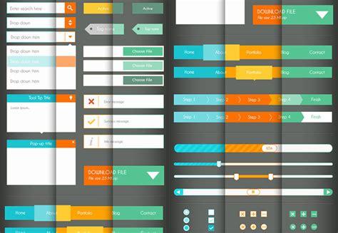 ui design background color 25 flat ui kits for web designers webdesigner depot