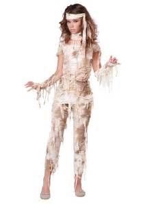 teen mysterious mummy costume halloween costumes