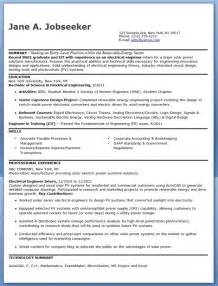 electrical engineer resume sle pdf entry level