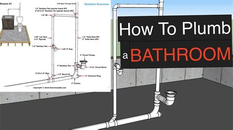 how to in bathtub plumbing how to plumb a bathroom with free plumbing diagrams