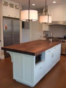 kitchen butcher block islands with seating cabin staircase farmhouse medium specialty