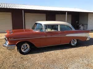 1957 Chevrolet Colors Sell Used 1957 Chevrolet Bel Air 210 Sedan Original Color