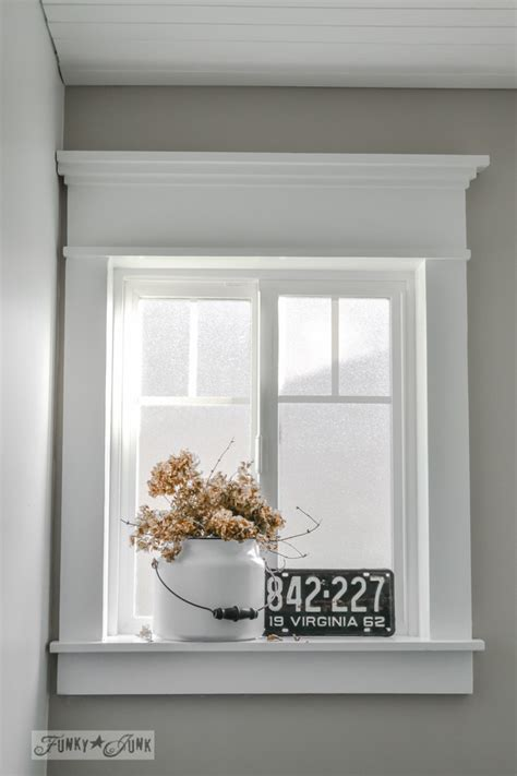 Bathroom Window Mold Farmhouse Trim On Craftsman Trim Craftsman