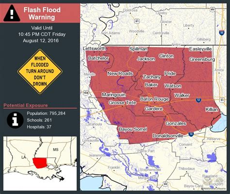 louisiana flood maps louisiana flooding map update historic disaster kills 3