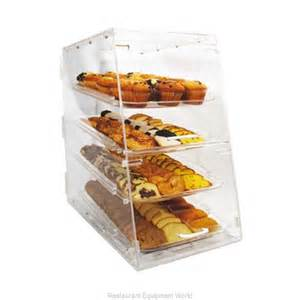 winco adc 4 display pastry countertop clear