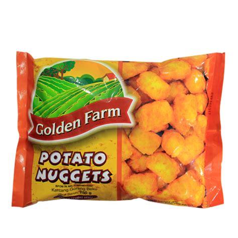 Golden Farm Crinkle Cut 1kg golden farm fries cut 1 kg sukanda djaya