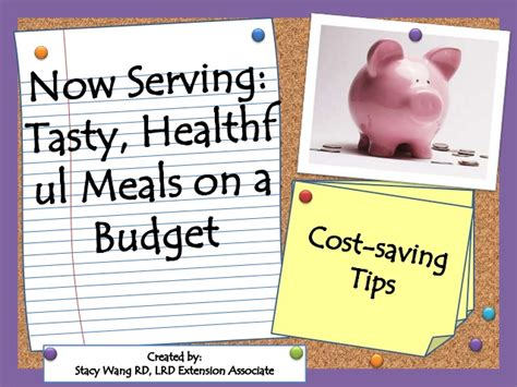 cost saving tips for a now serving cost saving tips