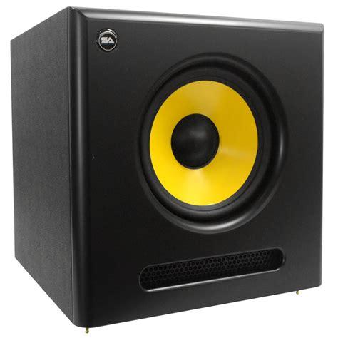 Speaker Subwoofer 100 Watt seismic audio active 10 inch studio subwoofer 100 watts rms 8 ohms ebay