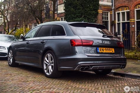 Audi 2015 S6 by Audi S6 Avant C7 2015 4 Januari 2018 Autogespot