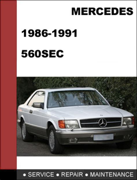 free online auto service manuals 1986 mercedes benz s class head up display mercedes benz 560sec w126 1986 1991 factory workshop service manual