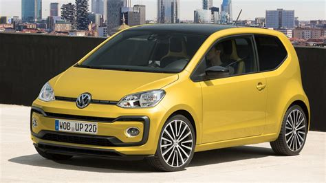 volkswagen up yellow vw up 1 0 tsi 90 2016 review by car magazine