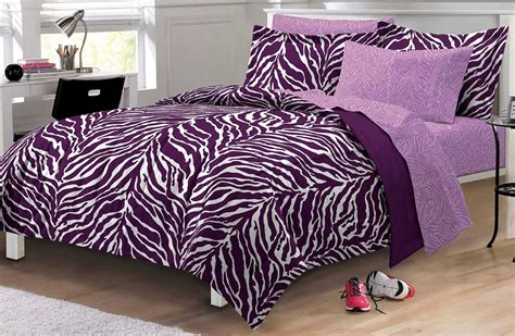 purple leopard print comforter set total fab purple zebra cheetah and leopard print
