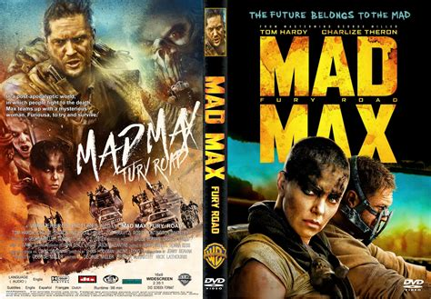 maxcovers dvd gratis mad max fury road dvd cover label 2015 r1 custom art