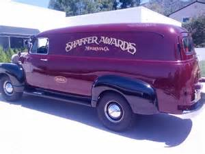 1952 chevrolet 1 ton panel delivery chevy gmc trucks