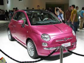 Fiat Pink File Fiat 500 Jpg