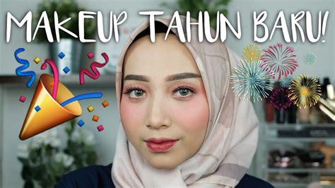 tutorial makeup fathi nrm tutorial makeup tahun baru monochrome makeup look