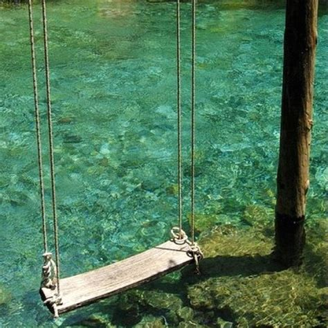 swings over the ocean a swing over the water delightful dream home pinterest