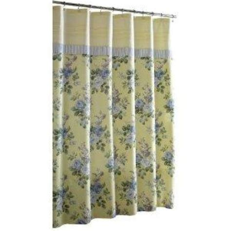 laura ashley shower curtain laura ashley shower curtain caroline ebay