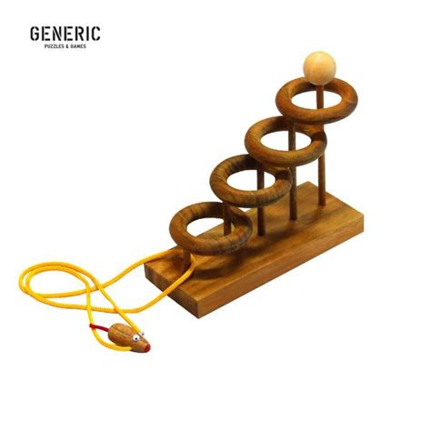 Wood And String - orbits wood string puzzle