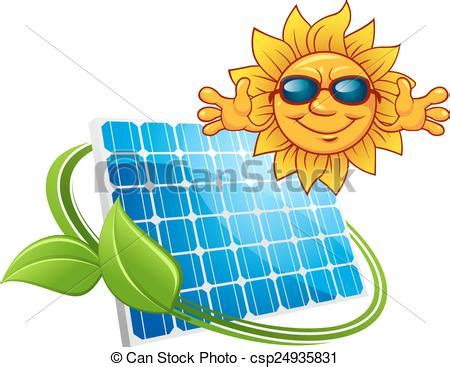 solar energy concept with happy sun wearing sunglasses