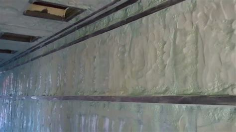 closed cell spray foam  shipping container youtube