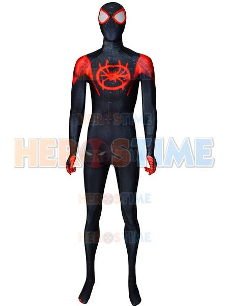 Pdf Spider Morales Suit by Morales Costume Spider Into The Spider Verse