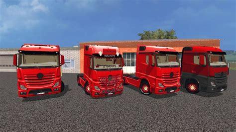 Truck Ls by Mercedes Mp4 Tuning Truck Ls 2015 Farming Simulator 2015