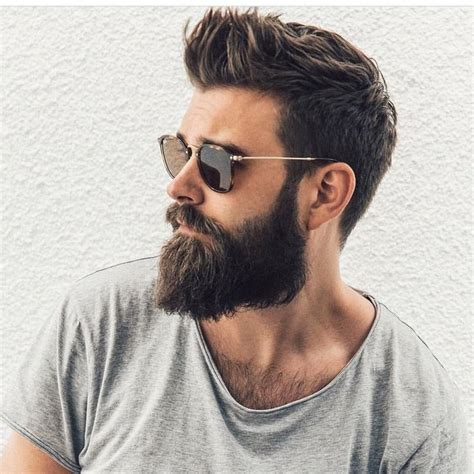 hairstyles for with beard best 25 beards ideas on beard style beard