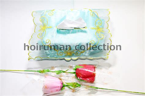 Souvenir Pernikahan Tempat Tisu Organdi hoiruman collection souvenir tempat tisu tissue tisue