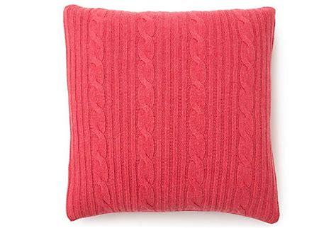 roma 21x21 pillow fuchsia