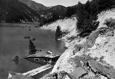 earthquake yellowstone 1959 earthquake in yellowstone remembered the denver post