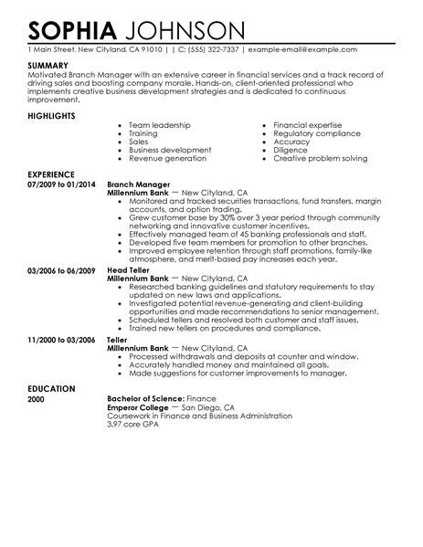 Commercial Finance Manager Sle Resume by Finance Manager Resume Template Basic Resume Templates