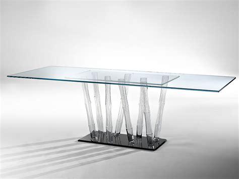 tavoli di cristallo i nuovi tavoli in cristallo di reflex