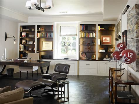 Mens Office Decorating Ideas by 33 Stylish And Dramatic Masculine Home Office Design Ideas