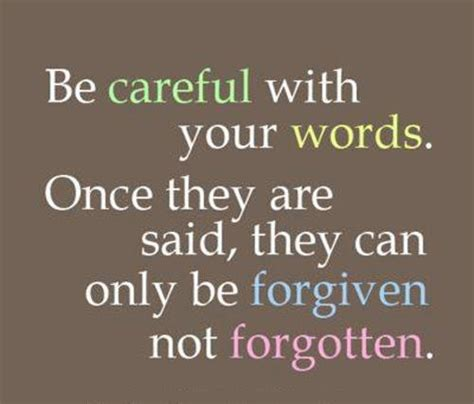 careful with words best inspirational quotes