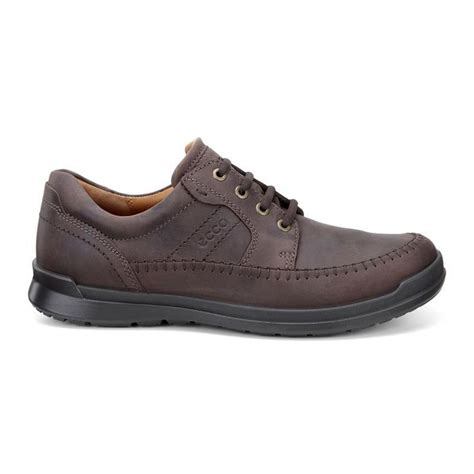 clearance shoes ecco mens shoes clearance ecco howell moc tie nubuck