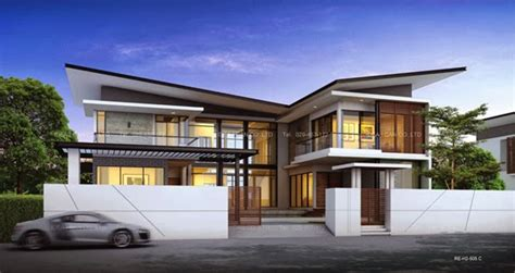 modern tropical house plans modern tropical house plans contemporary tropical modern style in thailand 2 story