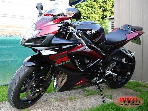 2006 Suzuki Gsxr 750 Suzuki Gsx R 750 2006 Specs And Photos