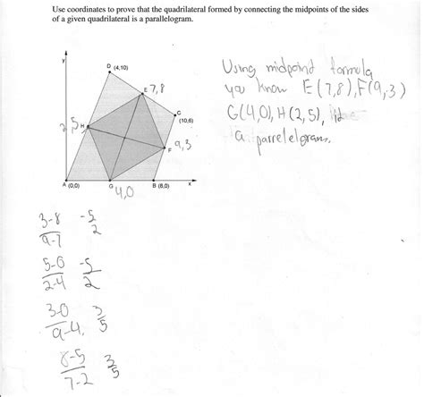 Drawing Quadrilaterals by Midpoints Of Sides Of A Quadrilateral