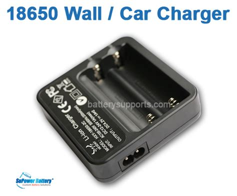 Cell Charger Battery 18650 Dual Battery Slot A Cc 02 16 li ion 4 2v 1a 18650 battery dual slot wall car charger