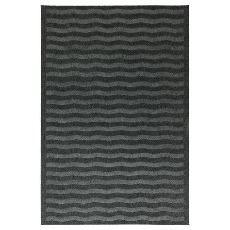 grey ikea lyn 196 s door mat grey 65x98 cm ikea