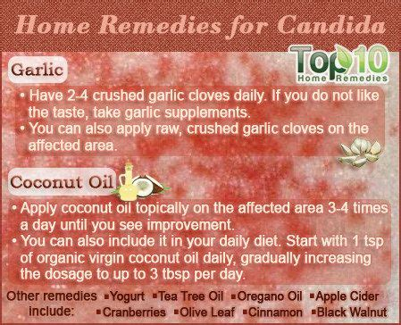 home remedies for candida candida yeast coconut and
